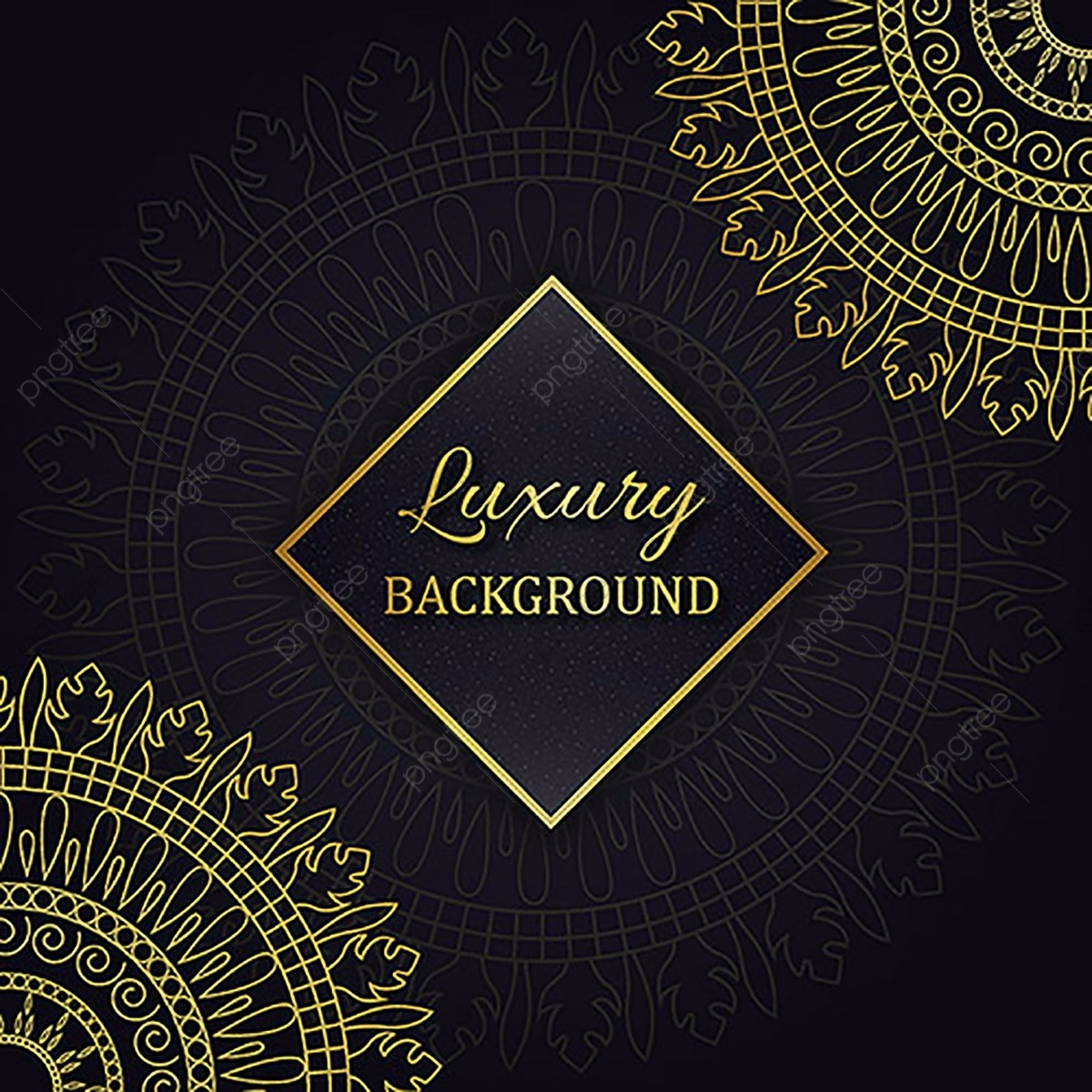 Amazing Vector Luxury Background Designs Luxury Gold Retro Png And Vector With Transparent Background For Free Download