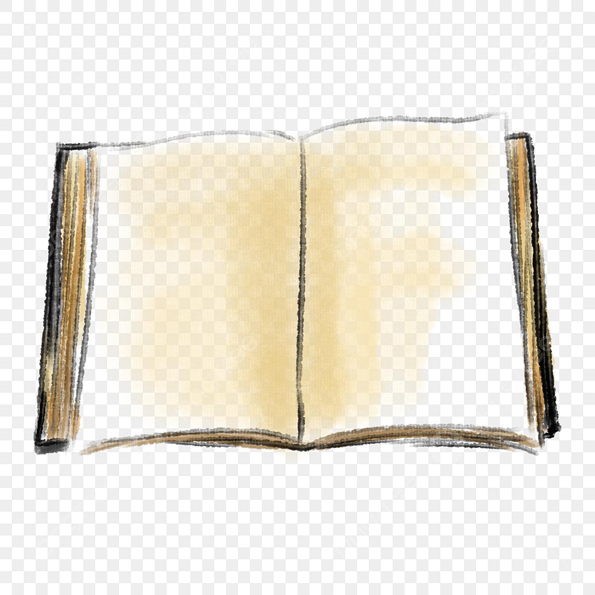 Un Livre Ouvert Etudier Dur Livre Blanc Livre Illustration