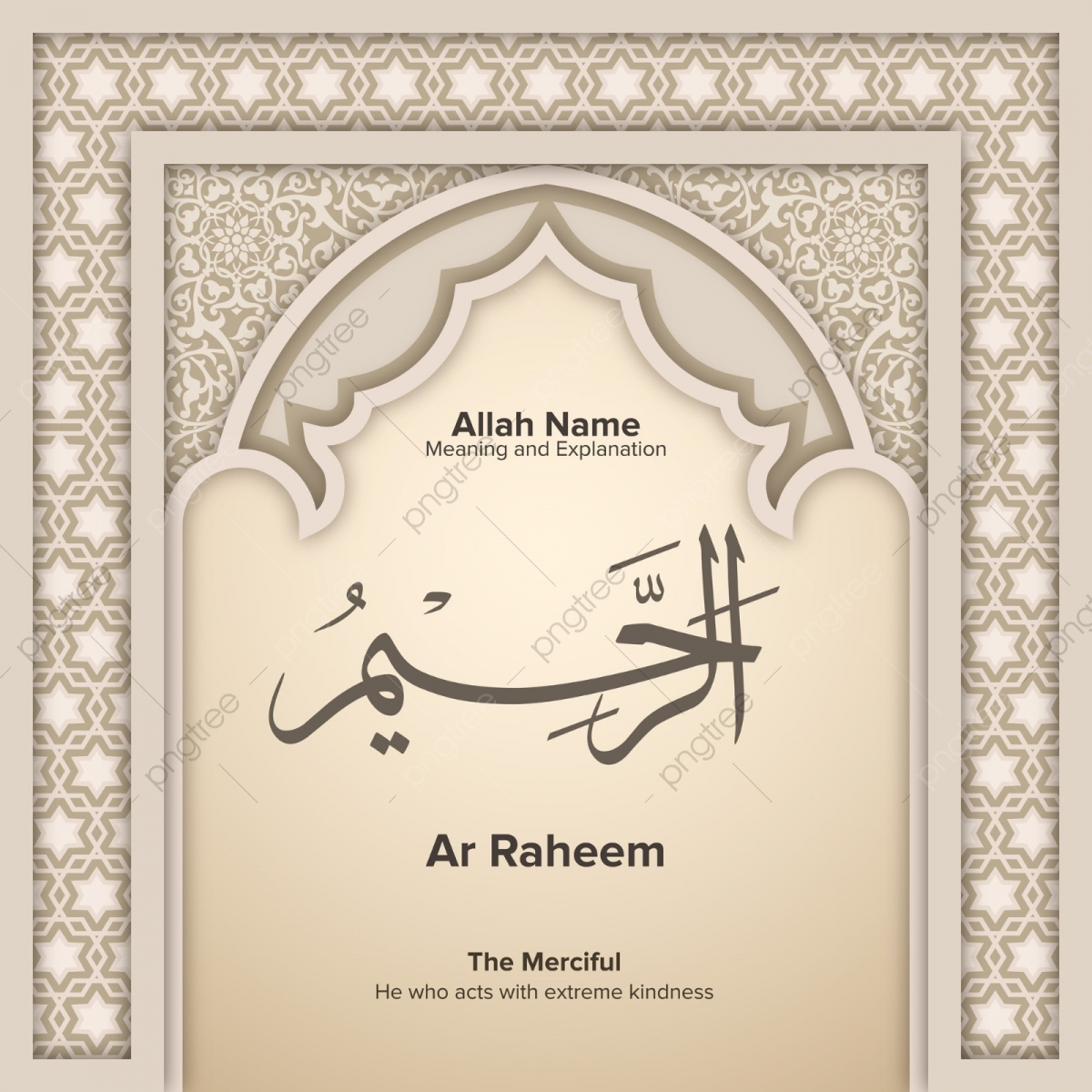 Ar Raheem 99 Names Of Allah With Meaning And Explanation, Al