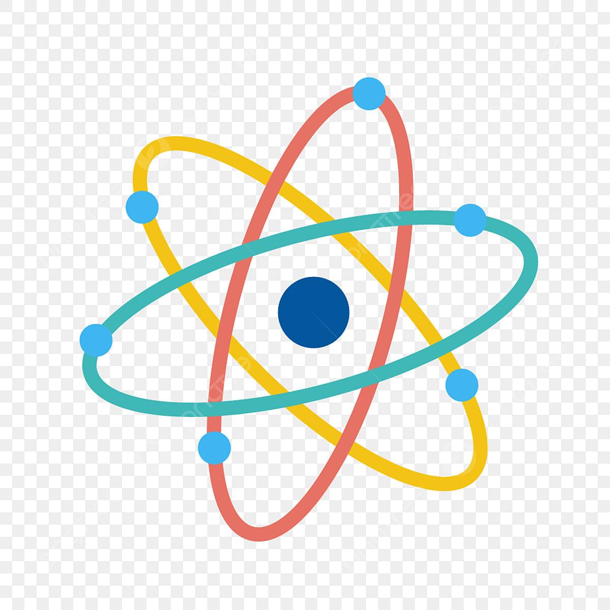 atom ic u00f4ne atome mol u00e9cule le nucl u00e9aire png et vecteur pour