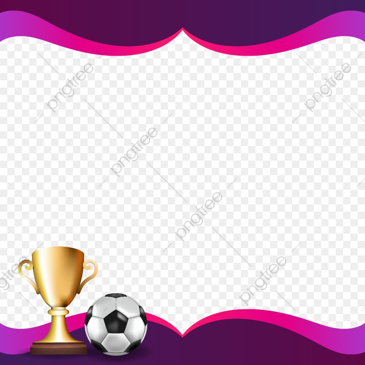 Background Abstract Green Football Soccer Ball Frame Frame