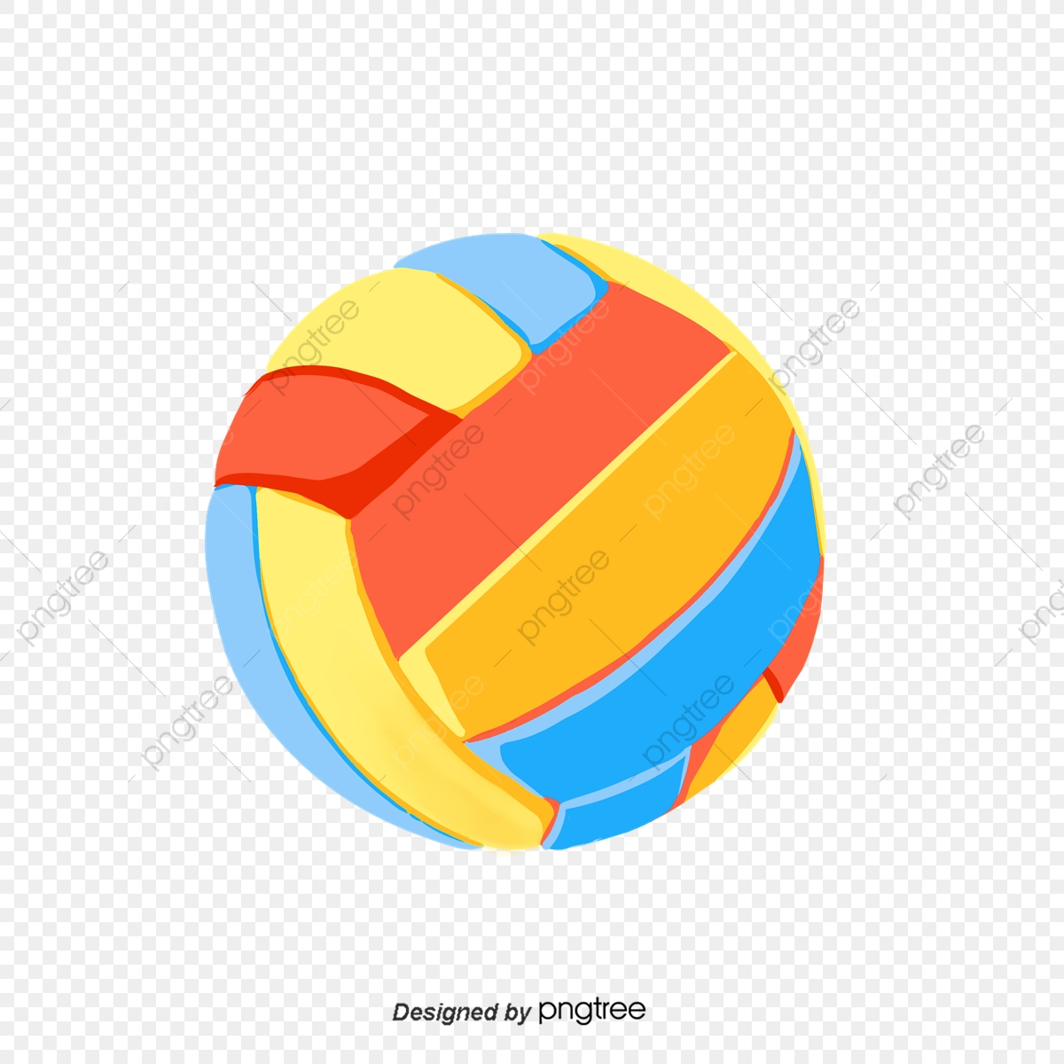 Vector Illustration Of Brazilian Beach Volleyball Sport - Beach Volleyball  Game Clipart - Free Transparent PNG Clipart Images Download
