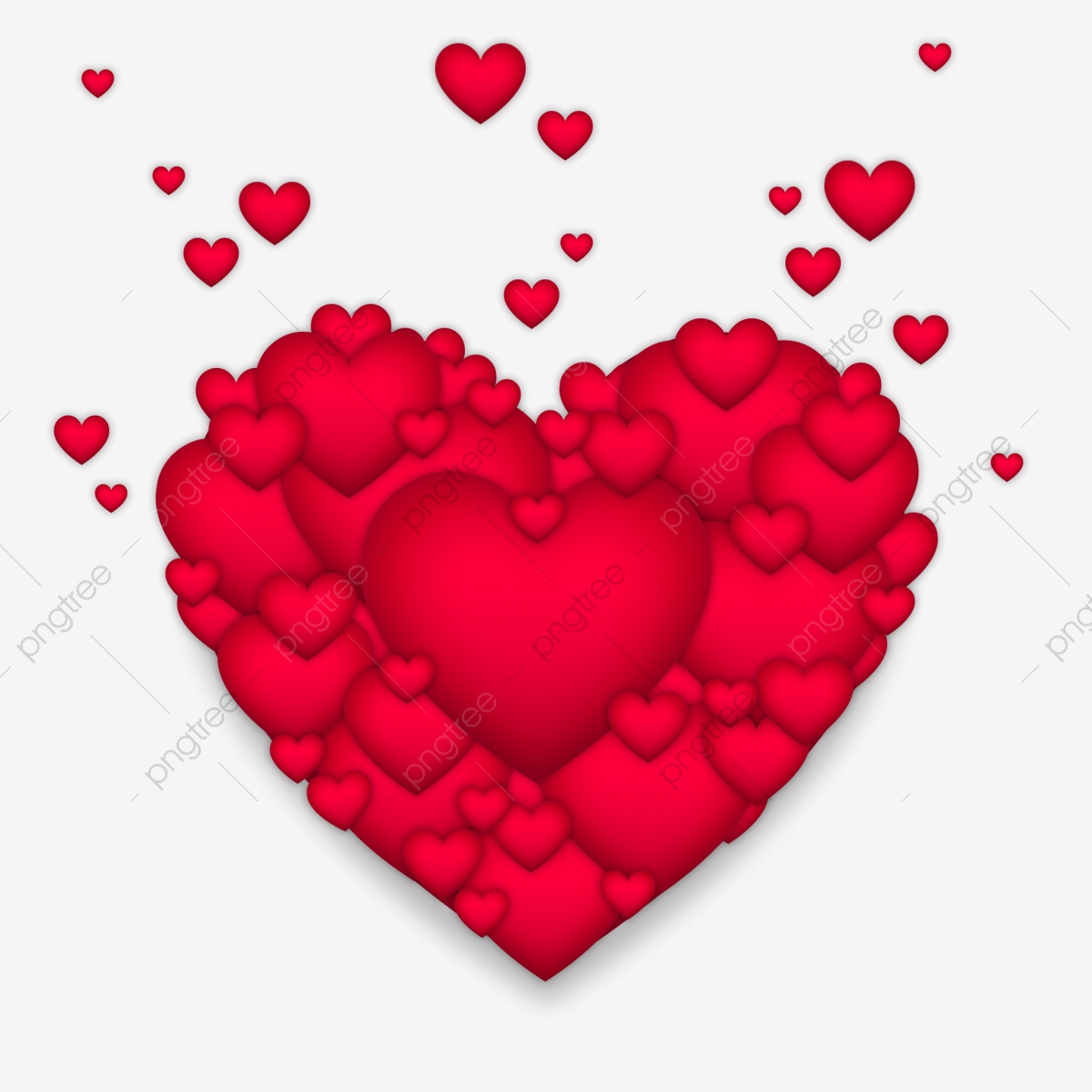 القلب الكبير أيقونات القلب عيد الحب قلب Png وملف Psd للتحميل مجانا