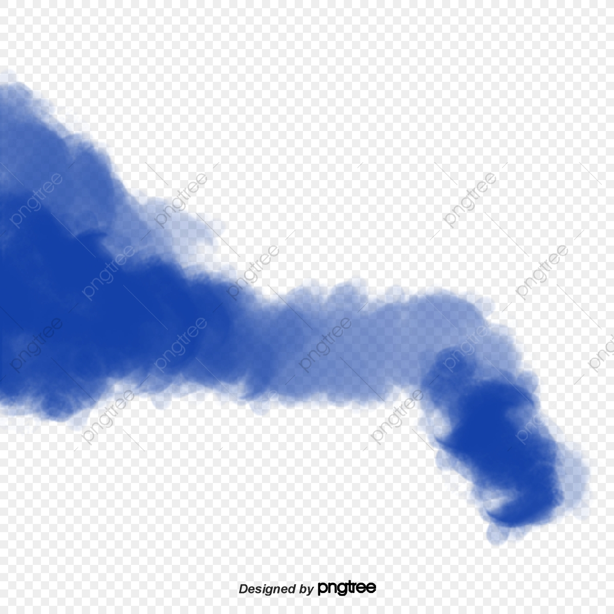 Blue Smoke, Element, Celebrating, Smoke PNG Transparent Clipart
