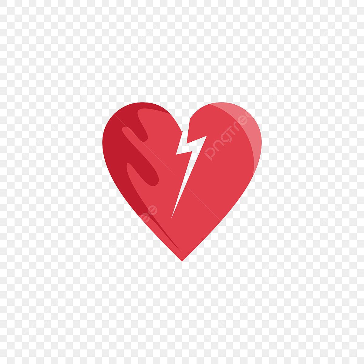 Top Five Broken Heart Icon Png - Circus