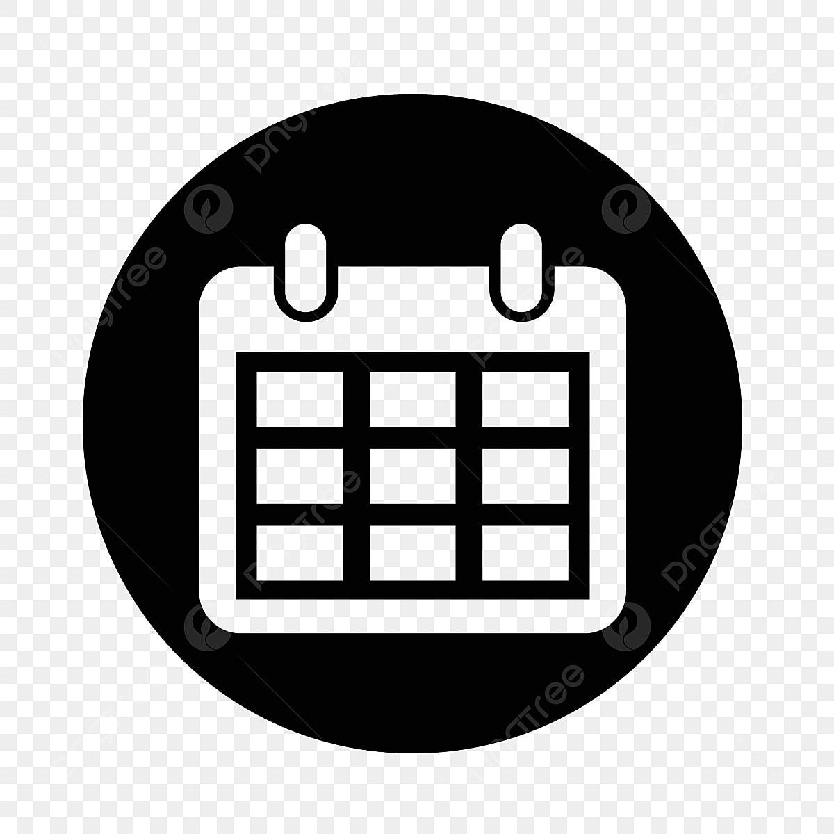 Calendario Vector.Icono De Calendario Calendario Icono Vector Png Y Vector Para