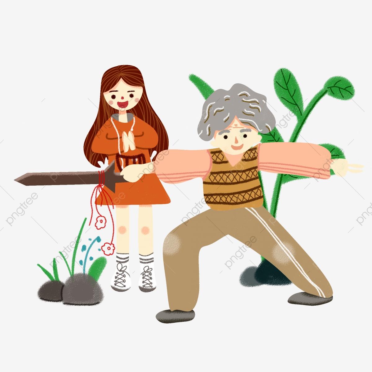 Respecting Old Age Going Home To Visit The Elderly Grandson Zhongmeide,  Chinese Traditional Festival, Chongyang Festival, Old PNG Transparent  Clipart Image and PSD File for Free Download