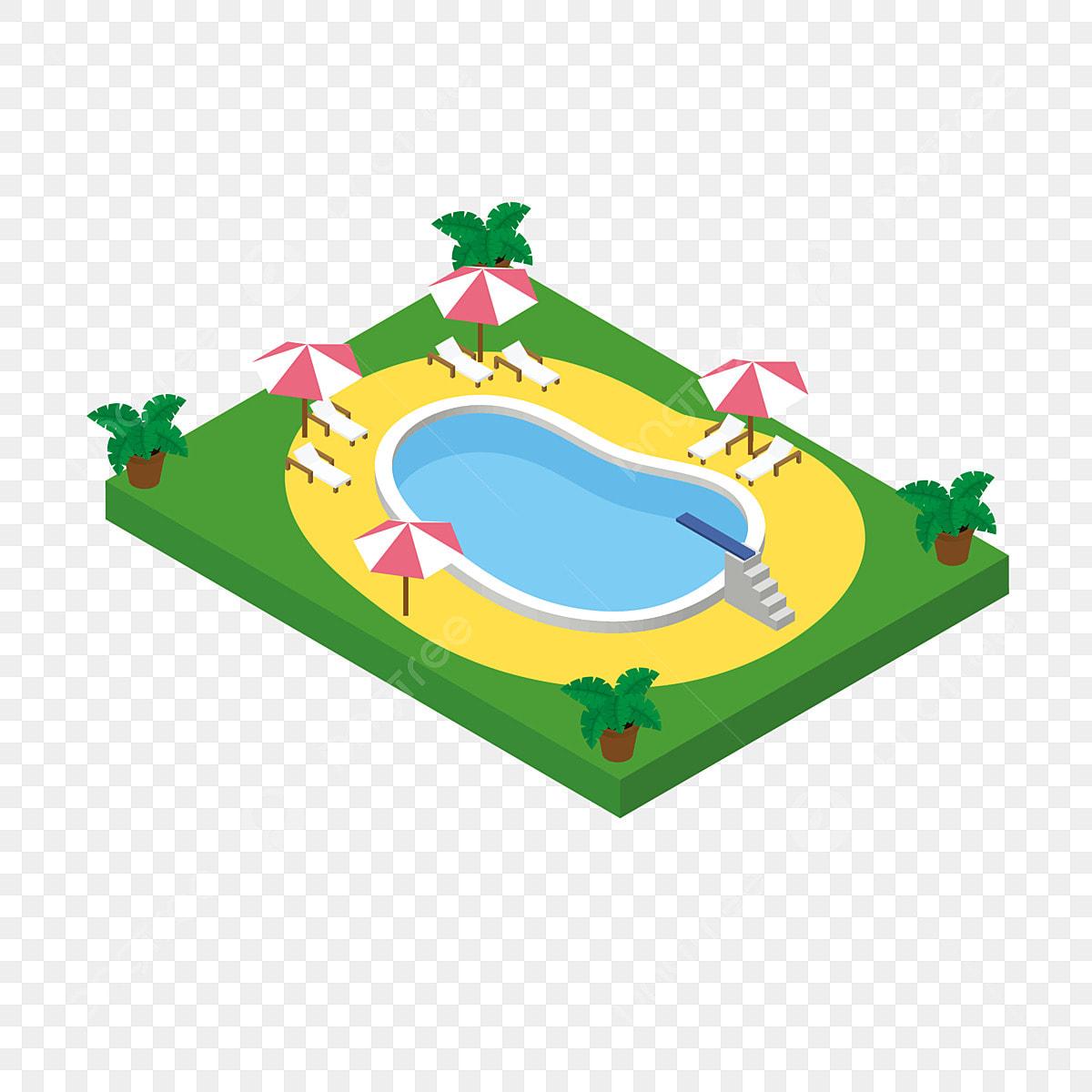dessin anim u00e9 piscine 2d piscine dessin anim u00e9 2d vert 2d