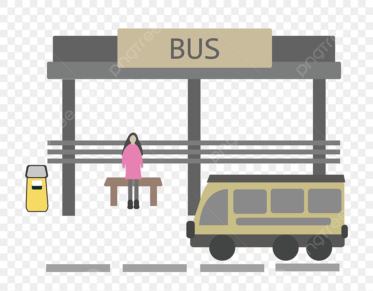 Gambar Perhentian Bas Kartun Menanti Anda Kartun Perhentian Bas Bas Kereta Sampah Boleh Gadis Platform Perhentian Bas Gadis Boleh Png Dan Vektor Untuk Muat Turun Percuma