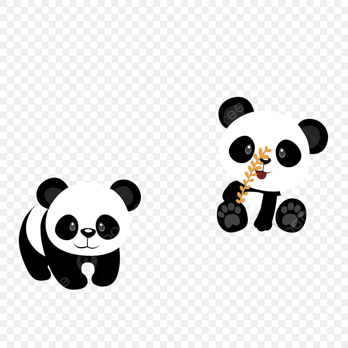 éléments Commerciaux De Conception Panda Trésor National