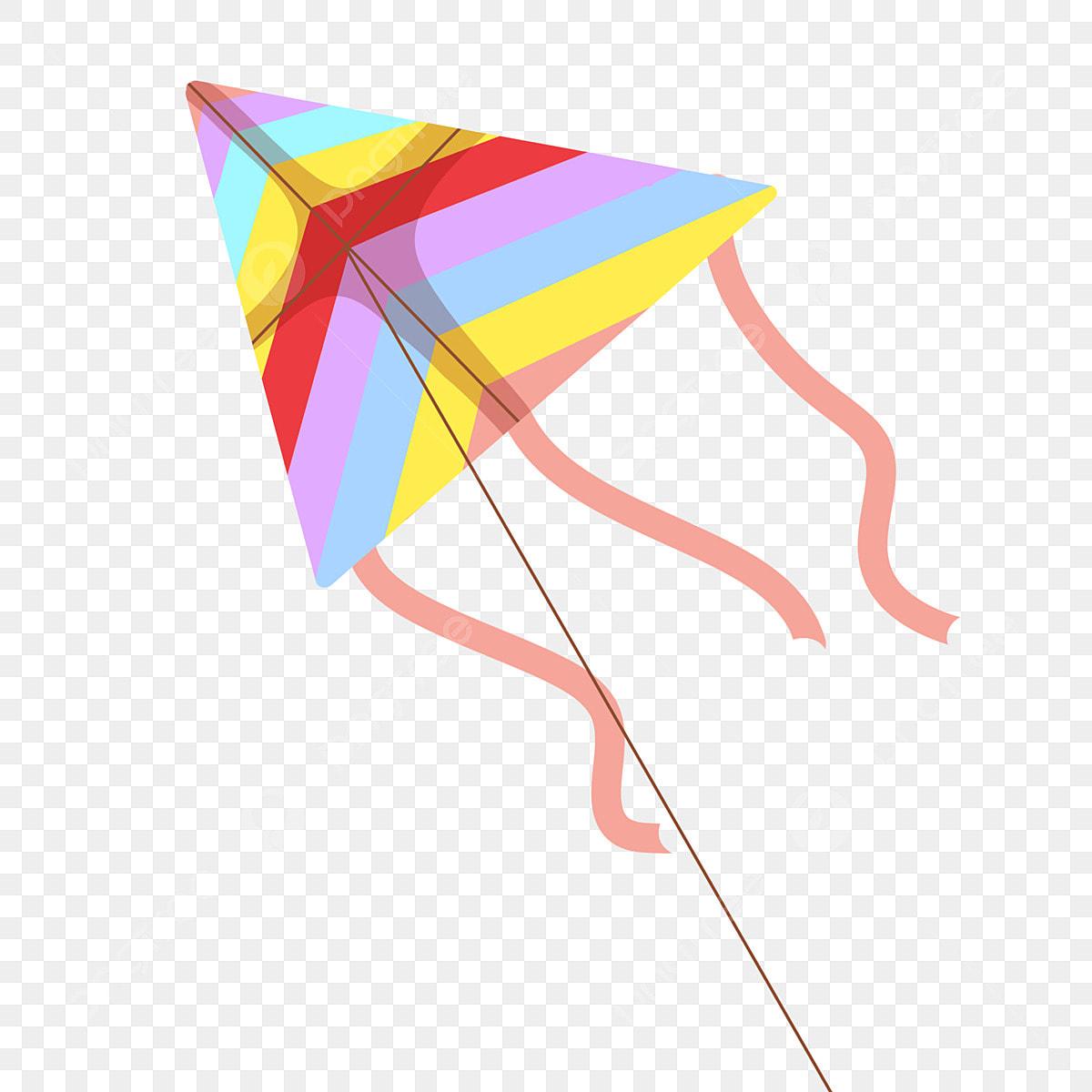 Cartoon Twisted Line Kite Color Kite Childlike Kite Fly A Kite