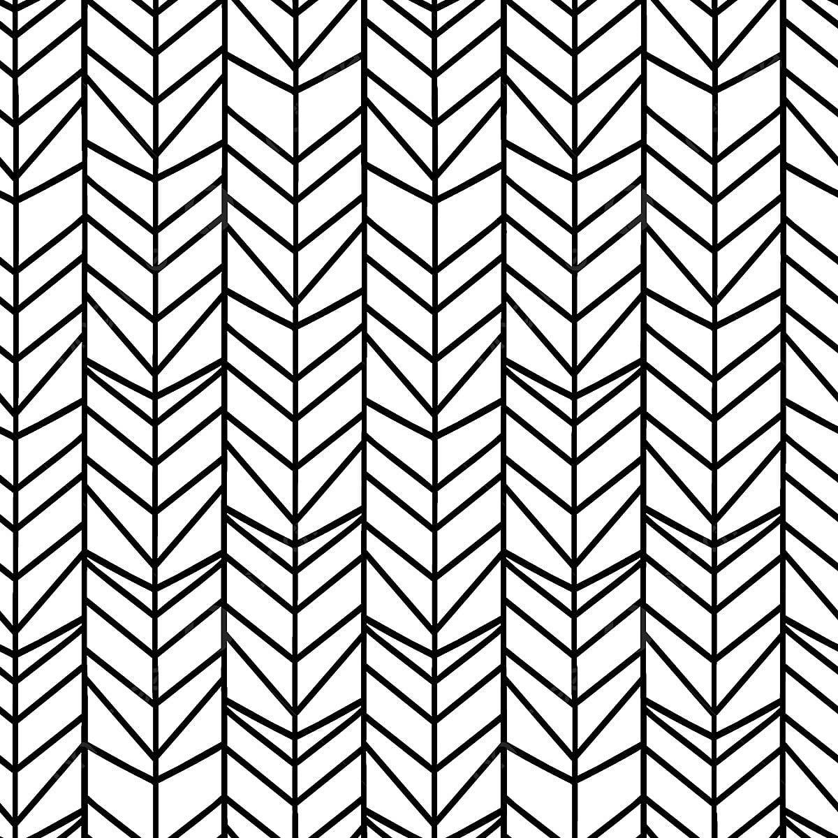 Papier Peint Noir Et Blanc Graphique chevron motif sans couture à chevrons avec des couleurs noir