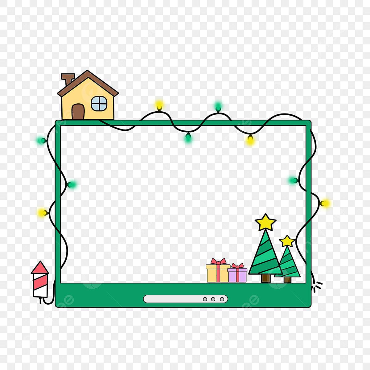 Dibujos De Navidad Creativos.Navidad Mano Dibujada Dibujos Animados Creativos Hermosa