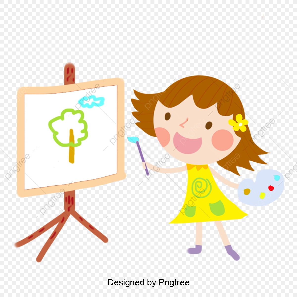 Color Cartoon Hand Painted Girl Drawing Color Cartoon Hand Painted Png Transparent Clipart Image And Psd File For Free Download Cartoon trees are one of the easiest things to learn to draw. https pngtree com freepng color cartoon hand painted girl drawing 3689827 html
