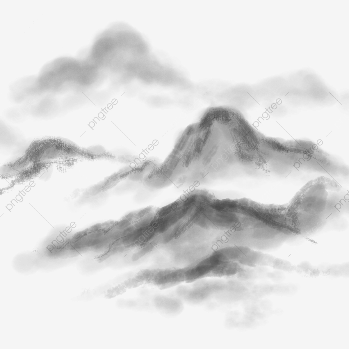 6e8c9ca0b Commercial use resource. Upgrade to Premium plan and get license  authorization.UpgradeNow · Commercial ink chinese painting mountain range  rolling clouds ...