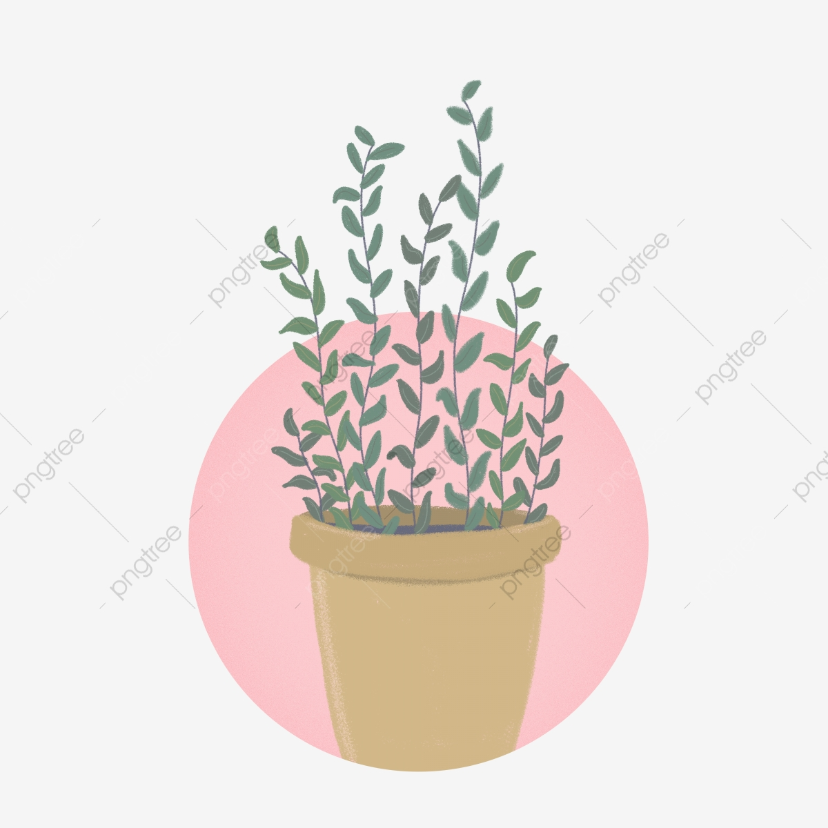 Commercial Plant Potted Cute Elements Plant Potted Plant Lovely Png Transparent Clipart Image And Psd File For Free Download