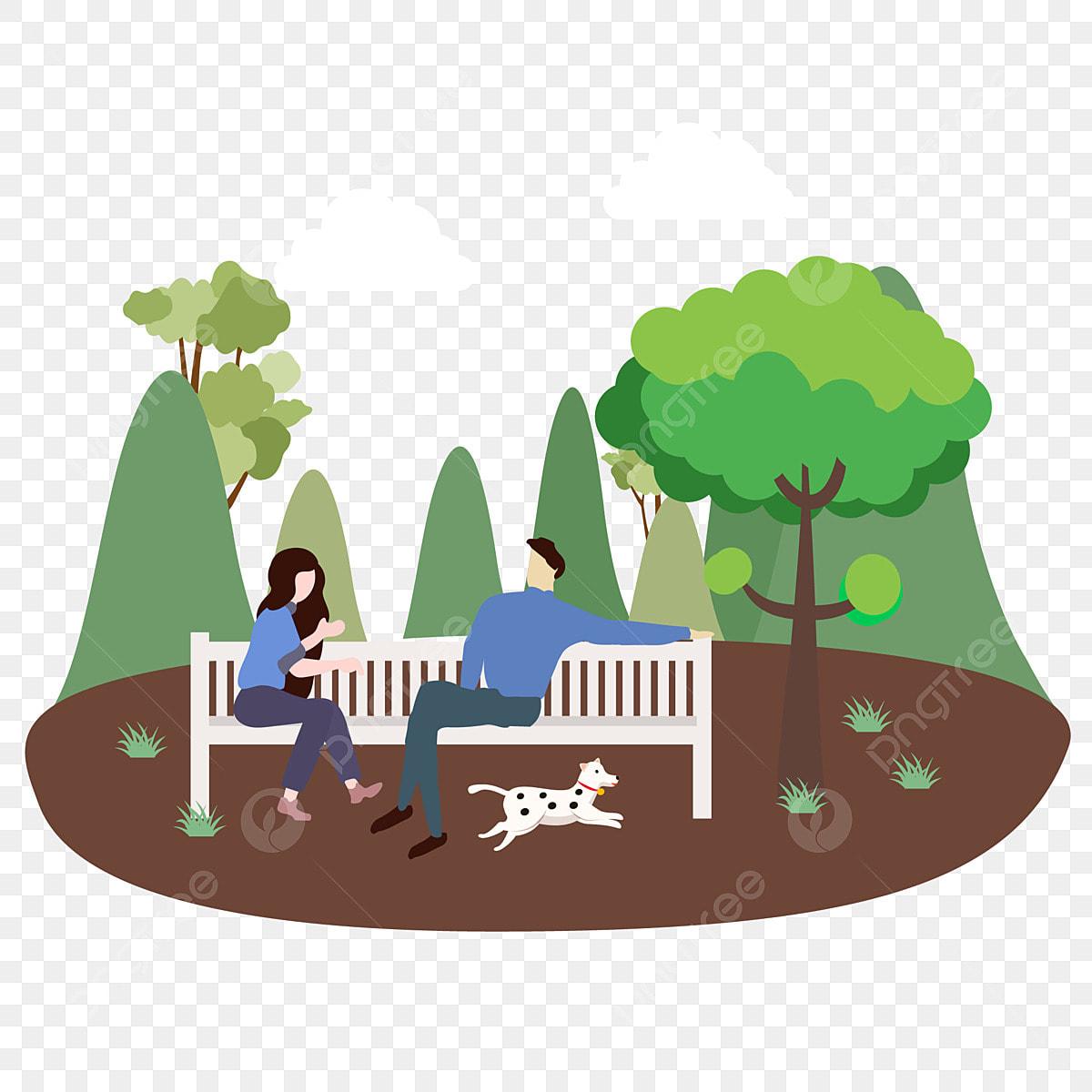 8200 Gambar Bangku Taman Kartun Terbaru