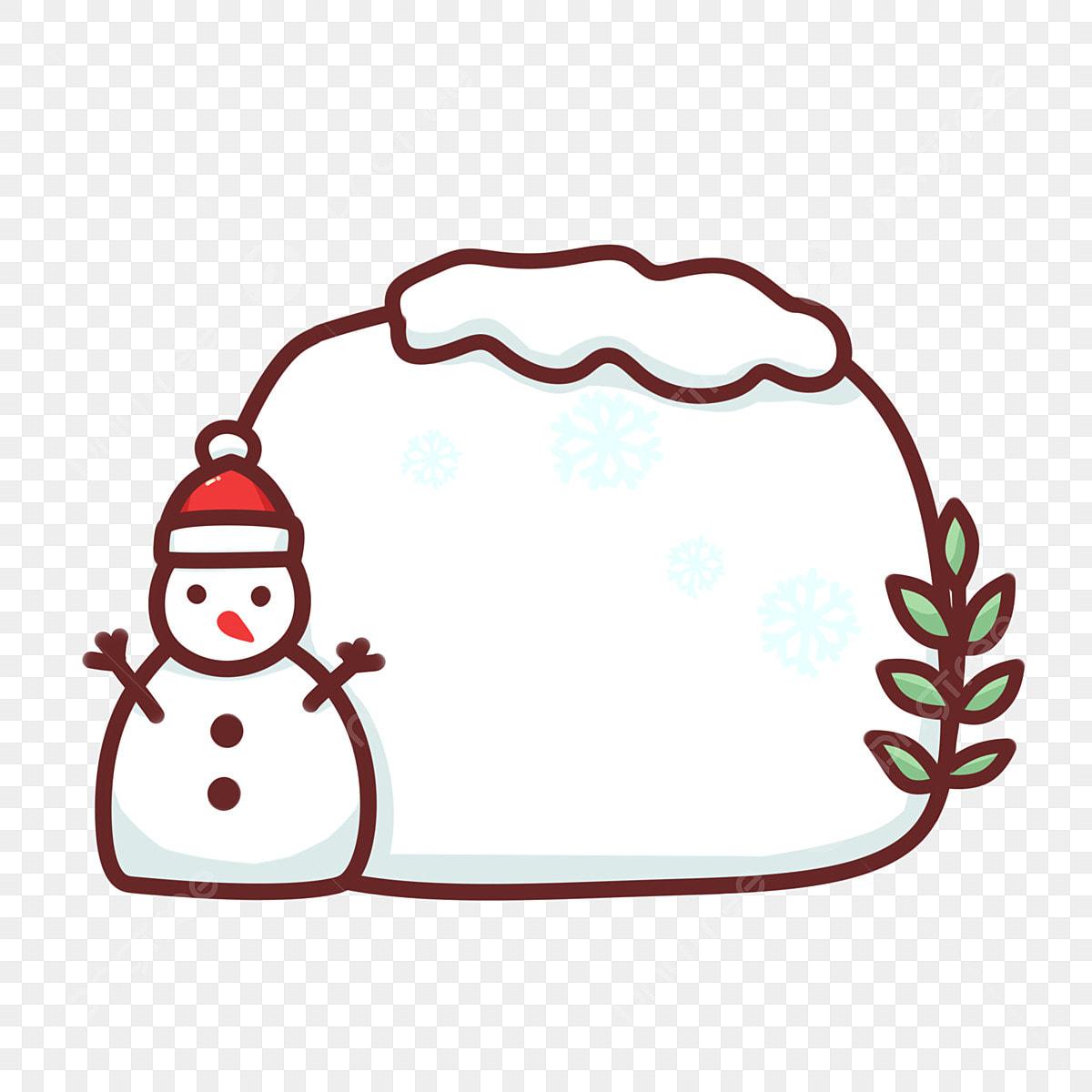 Christmas Header Transparent.Cute Minimalistic Christmas Hand Drawn Border Header