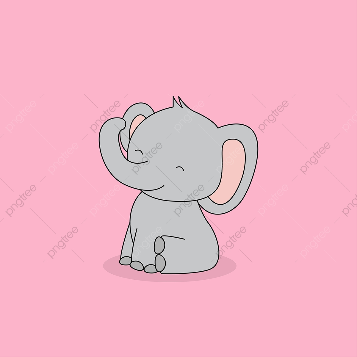 Cute Sitting Baby Elephant Elephant Clipart Elephant Baby Png And Vector With Transparent Background For Free Download Pink elephant, baby shower elephant infant, elephants, purple, mammal, child png. https pngtree com freepng cute sitting baby elephant 4188229 html