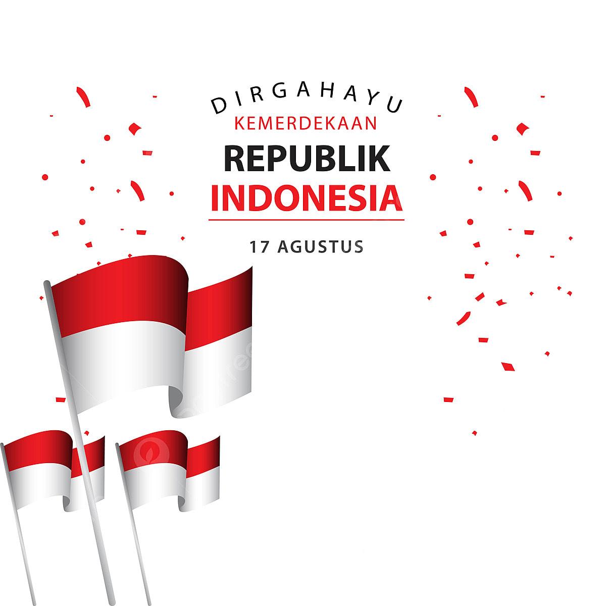Dirgahayu Kemerdekaan Republik Indonesia Poster Vector Template Design  Illustration, Template Icons, Poster Icons, Indonesia PNG And Vector With  Transparent Background For Free Download