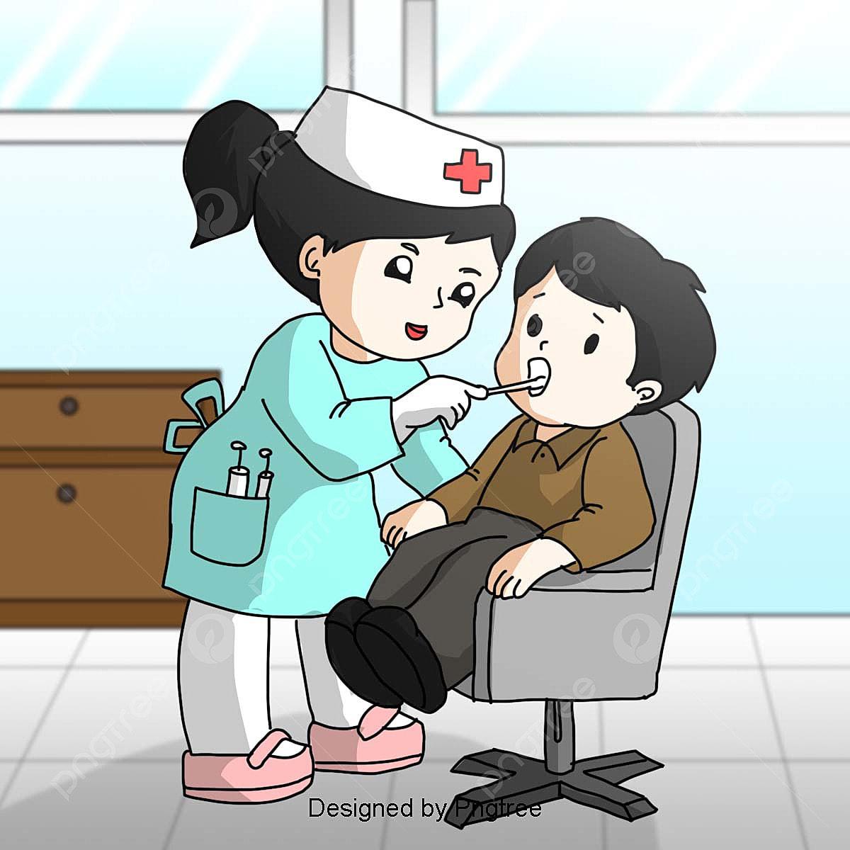 طبيب اسنان كرتون