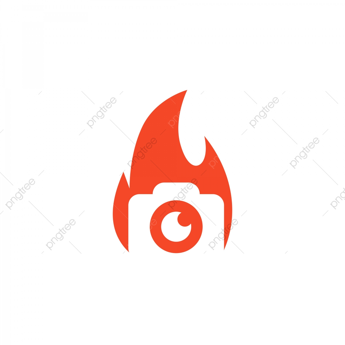 Fire Flame Vector Icon Camera Icon Vector Png And Vector