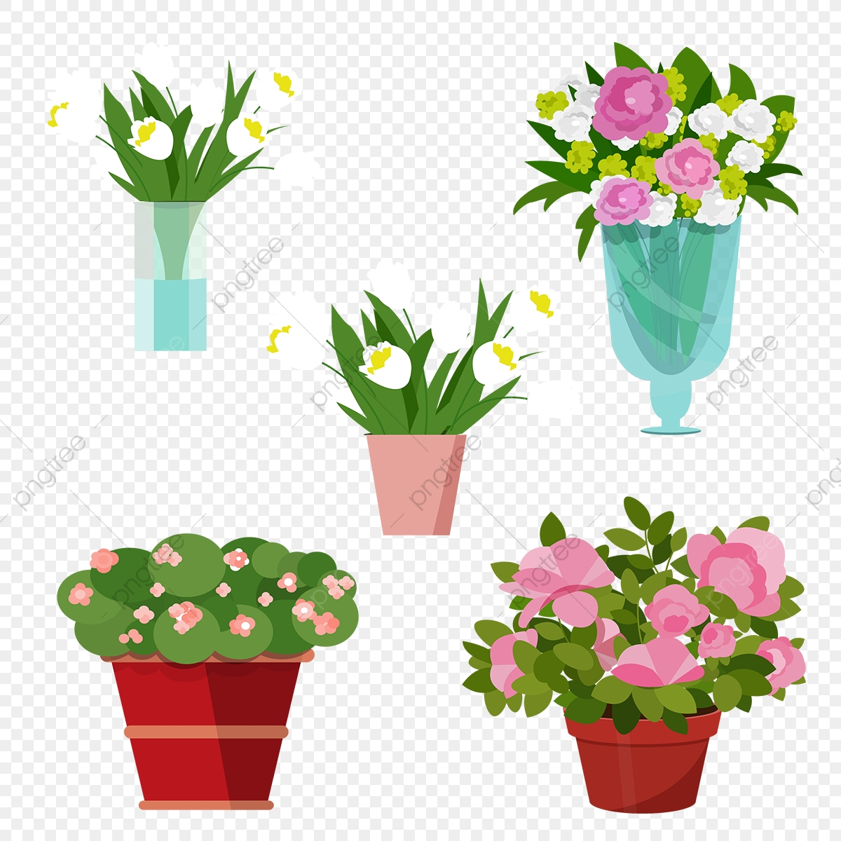 Flower Vase Png Images Vector And Psd Files Free Download On Pngtree