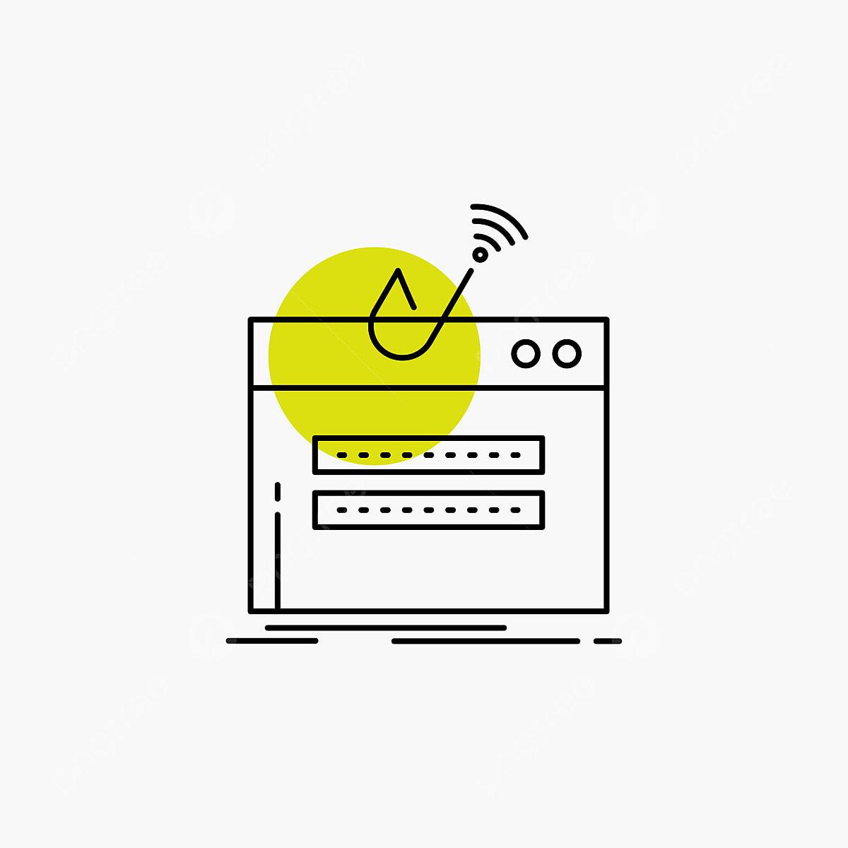 9173a156e el fraude internet login contraseña Robo Icono linea Gratis PNG y Vector
