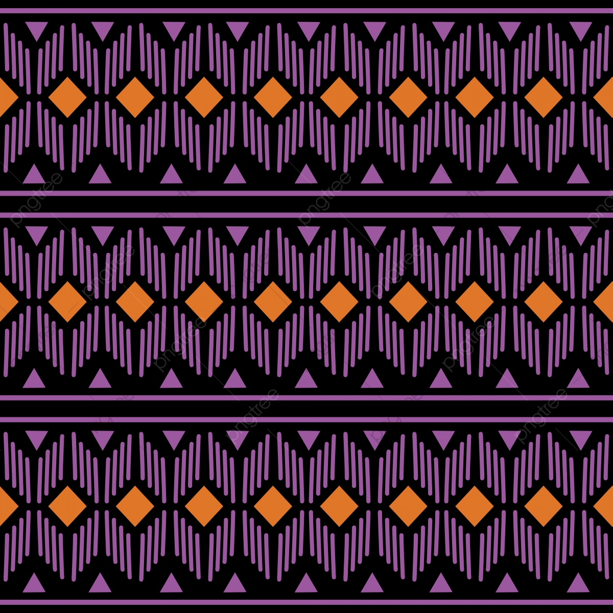 Geometric Hawaiian Ethnic Oriental Seamless Pattern Traditional Design For Background Carpet Wallpaper Clothing Wrapping Batik Fabric Vector Illustration Embroidery Style For Women Fashion Native Geometric Pattern Png And Vector With Transparent