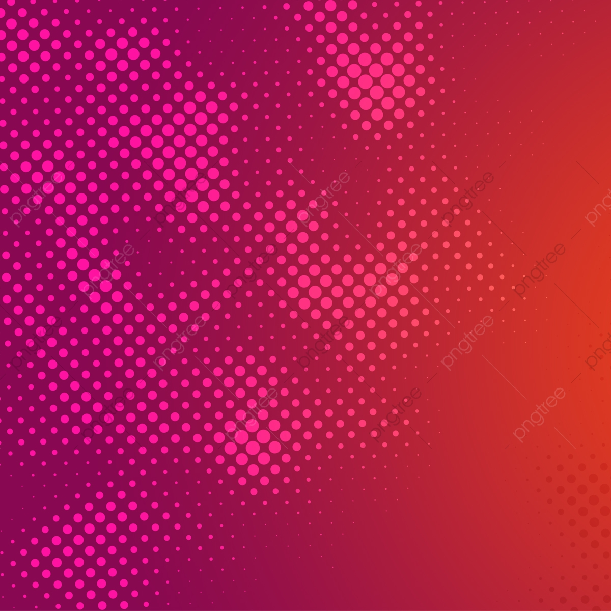 Halftone Dots Graphic Elements Background, Halftone, Dots