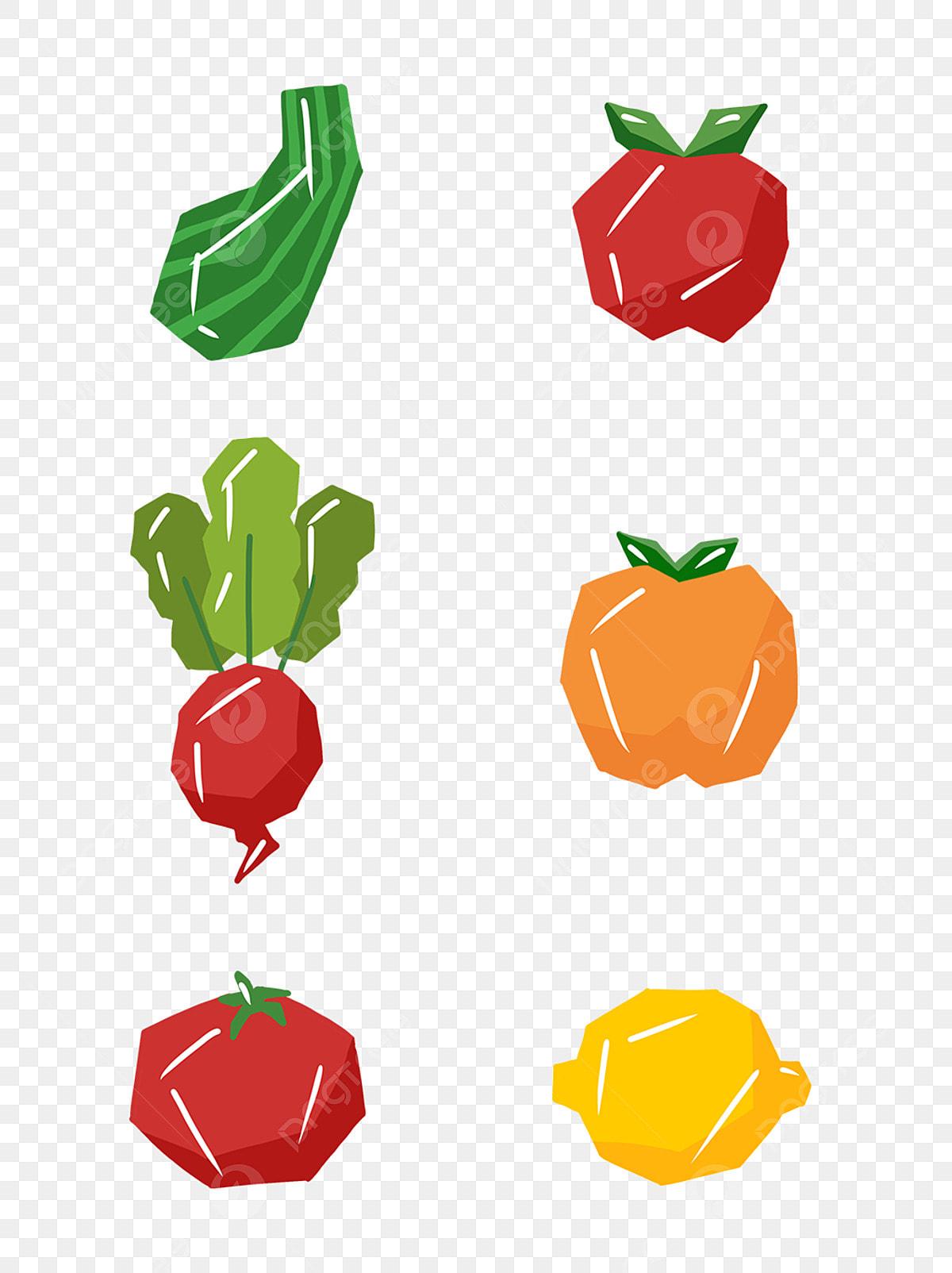 Dibujado A Mano De Dibujos Animados Gourmet Simple Fruta Y