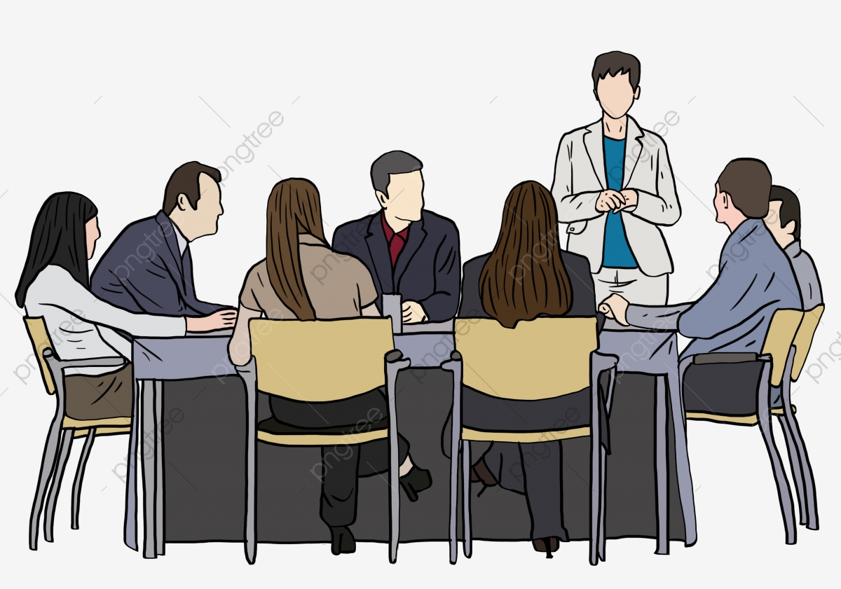hand drawn people working in a meeting hand painted cartoon go to work meeting discuss white collar png transparent clipart image and psd file for free download https pngtree com freepng hand drawn people working in a meeting hand painted cartoon go to work 3861644 html