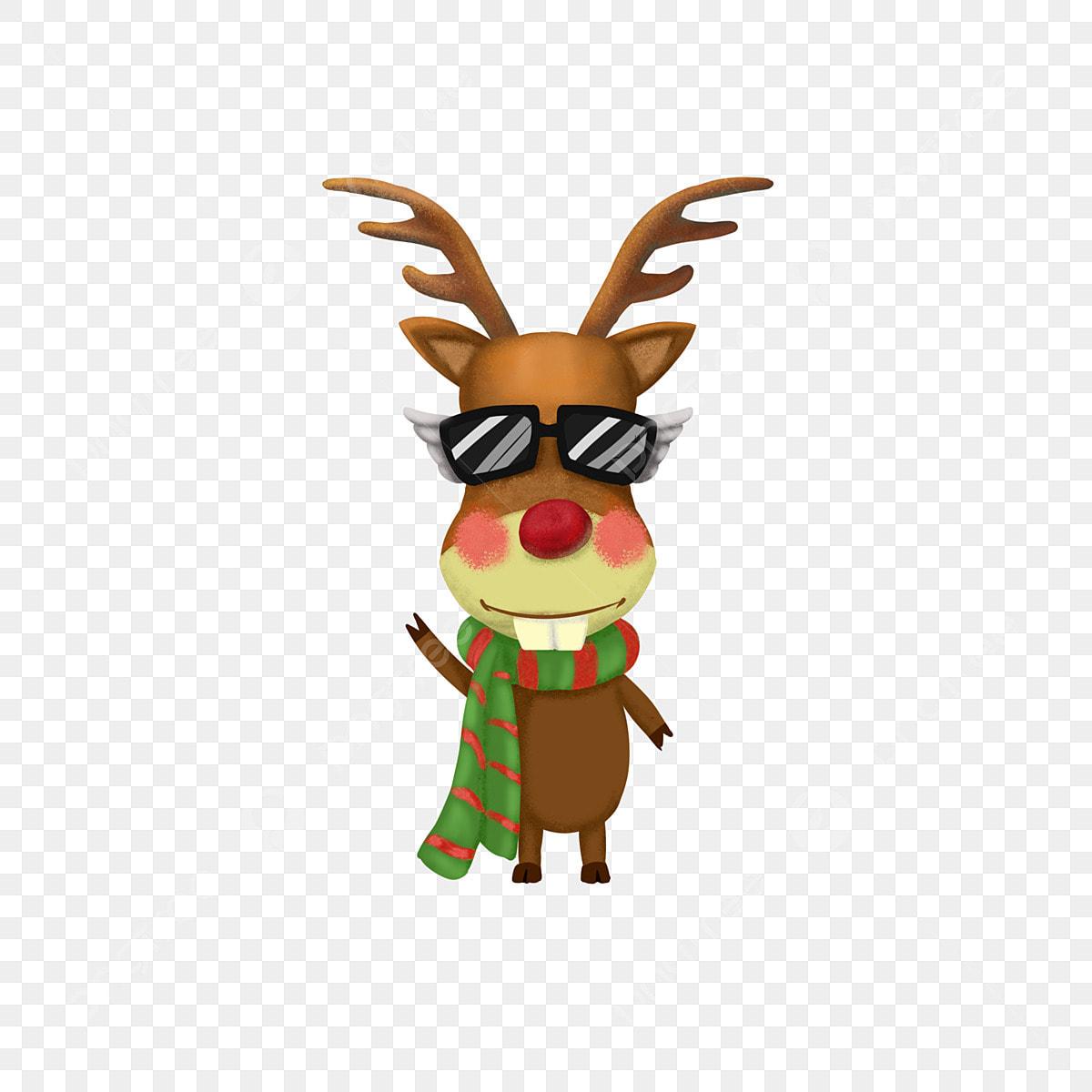 Christmas Humor Clip Art.Happy Christmas Funny Elk Image Christmas Festival Elk