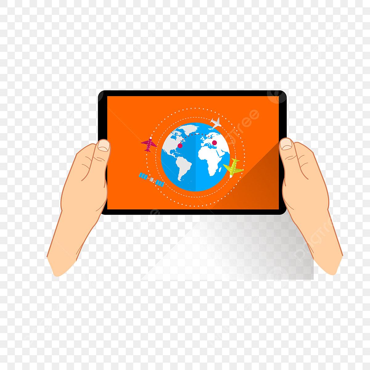 Ios Ipad Advertising Design Design, Palm, Tablet, Monitor