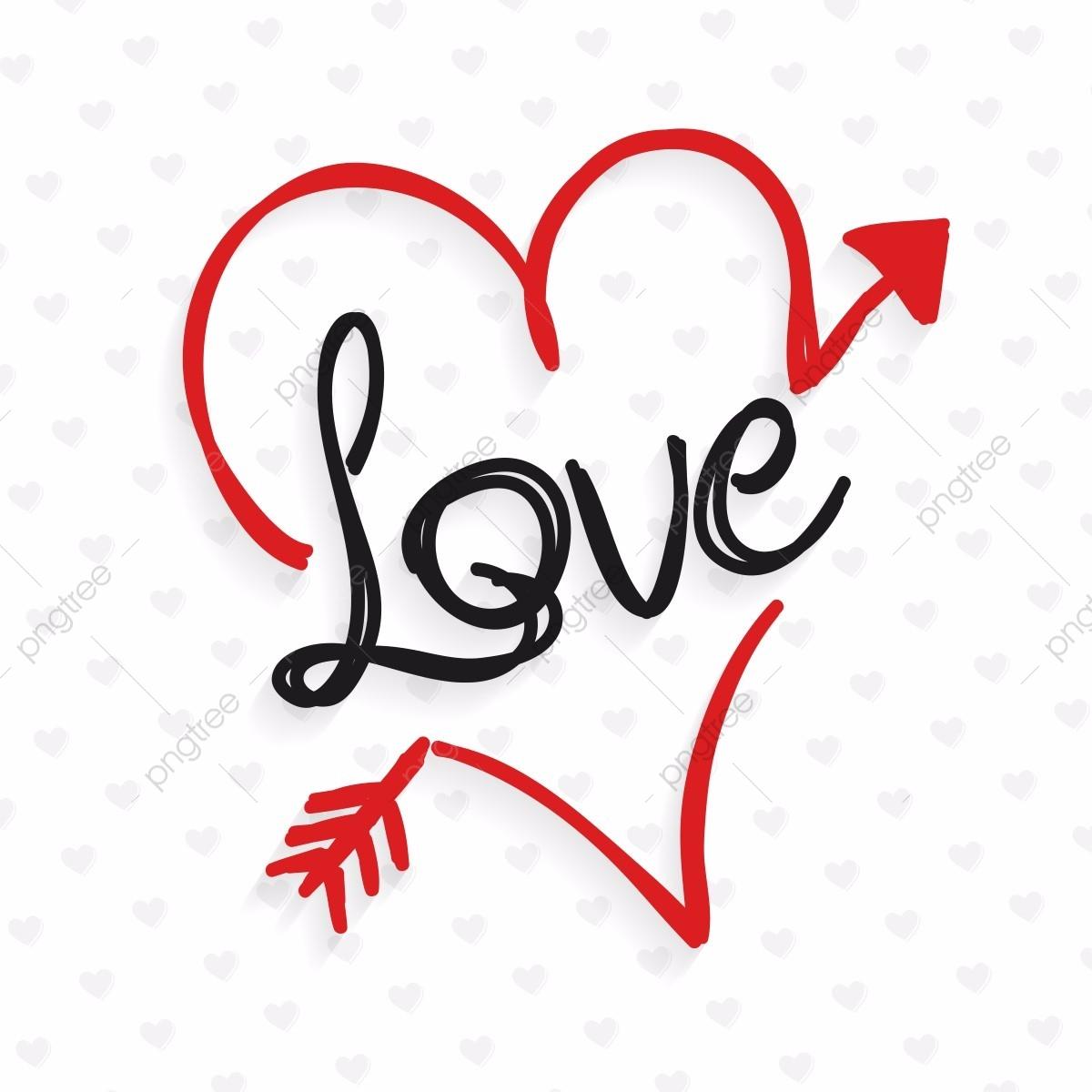love doodle tipografia com cora u00e7 u00e3o amor cora u00e7 u00e3o doodle png