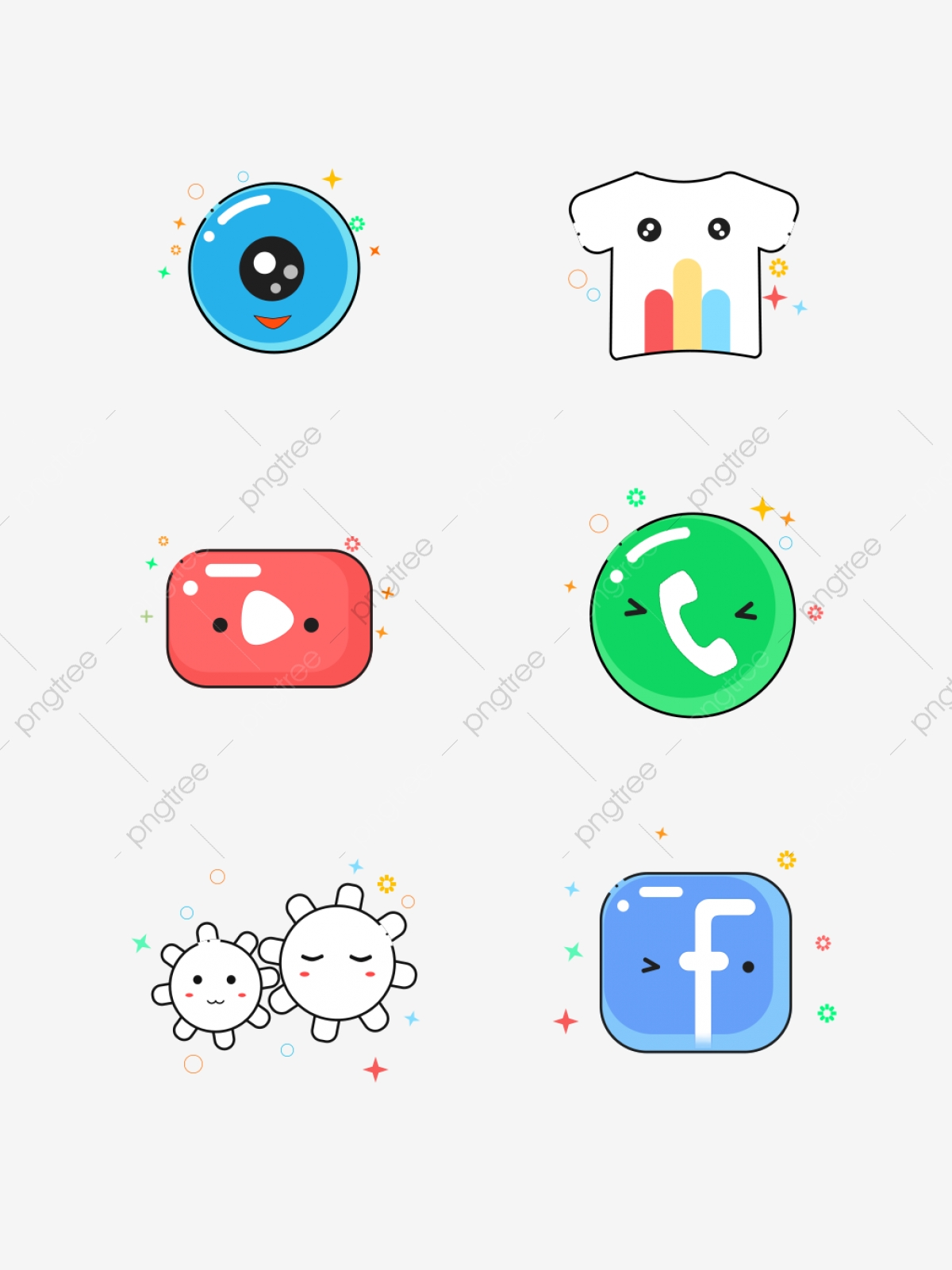 Mbe Style Cute Card Ventilation Mobile Phone Icon Element Set Illustration Mbe Cartoon Lovely Png Transparent Image And Clipart For Free Download