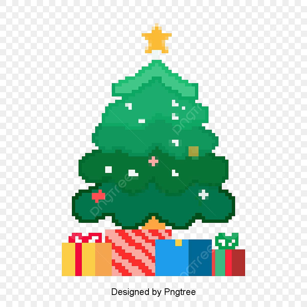 Le Sapin De Noël Et Le Cadeau De Noël Green Noël Cadeau
