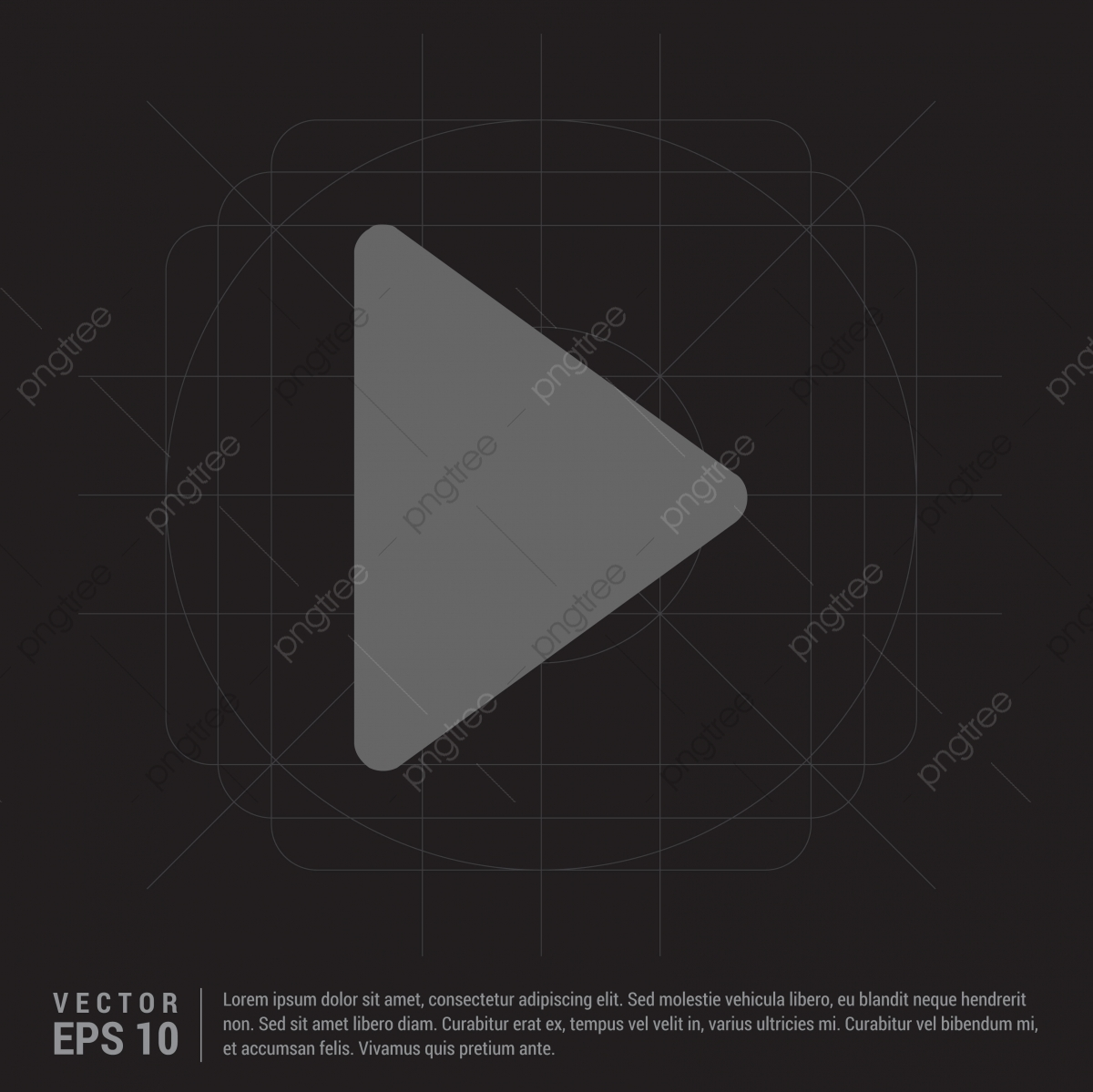 Play Button Icon, Play, Icon, Button PNG and Vector with
