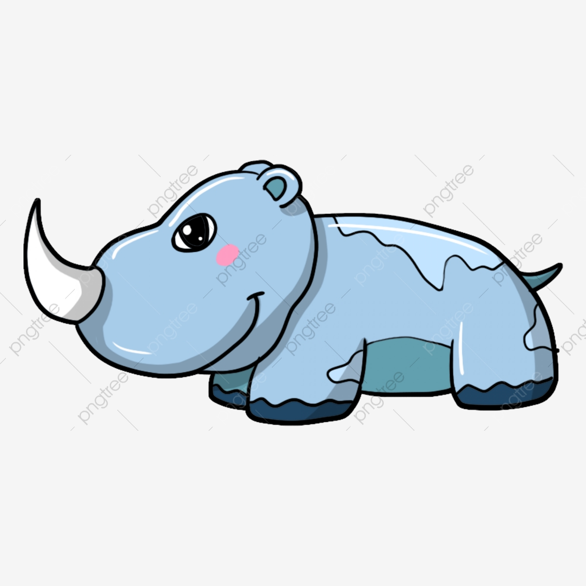 Rhinocéros Rhinocéros Dessinés à La Main Illustration De Rhinocéros ...