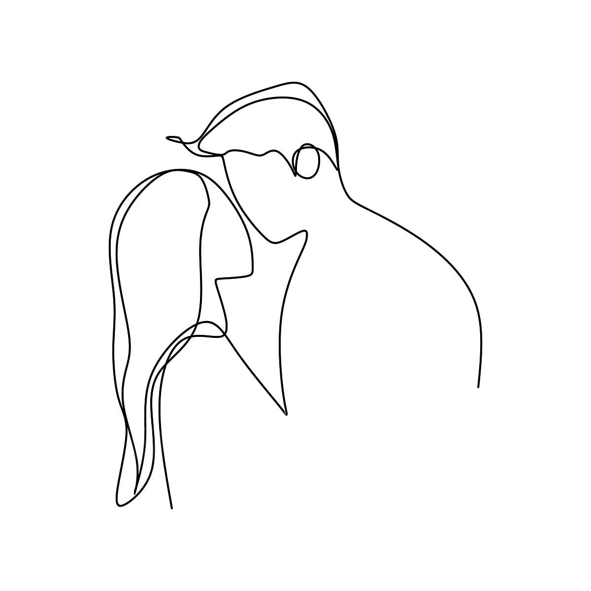 980 Gambar Lukisan Romantis Yang Mudah Terbaik