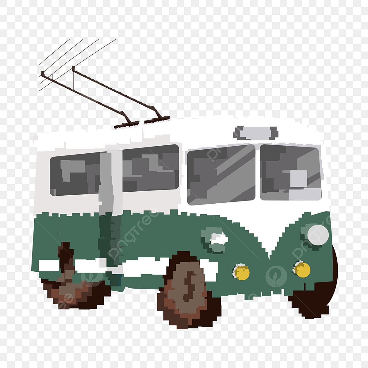 Conception Dautobus Scolaire Rétro Des Années 80 Avec