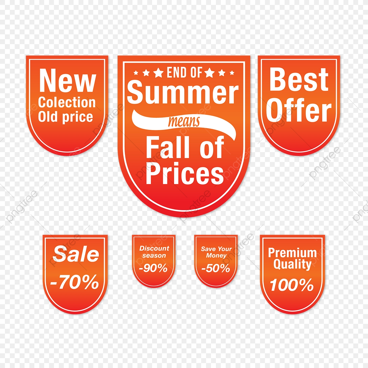 Sale Tag, Banner Design, Summer, Sale PNG and Vector with