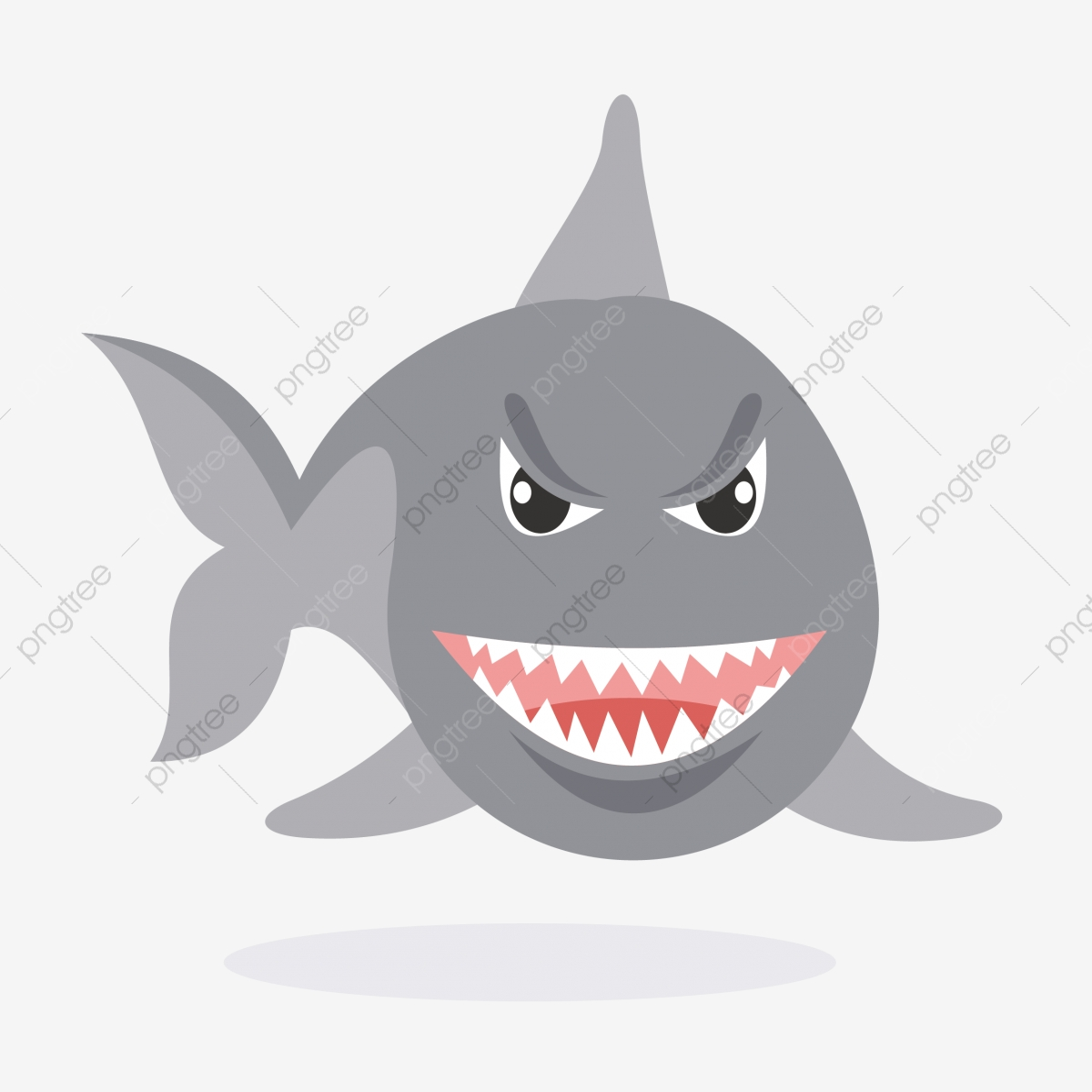 requin gris requin gris grand requin requin de dessin
