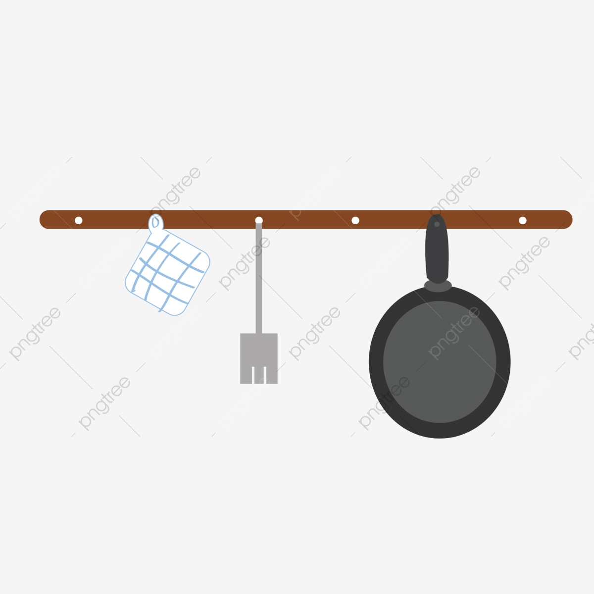 Diseño De Ai Dibujos Animados Utensilios Cocina Simple Dibujos ...