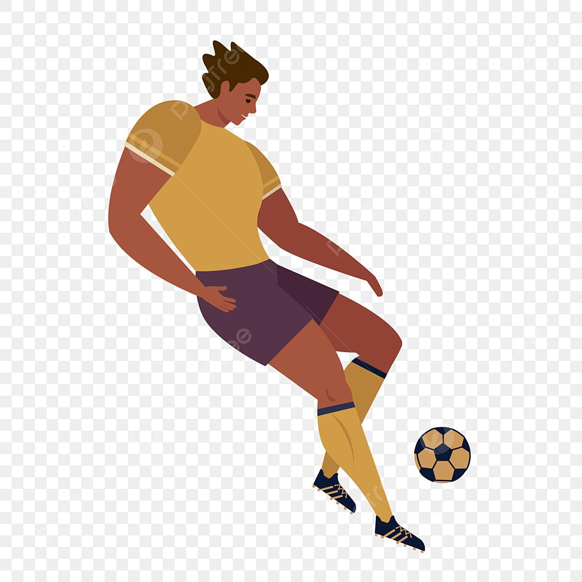 Fussballspieler Athlet Sport Sportspieler Sportmaterial