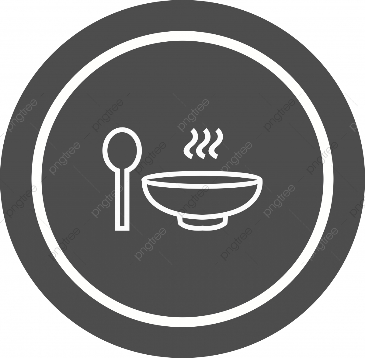 Soup Icon Design Chinese Hot Noodles Png And Vector With Transparent Background For Free Download