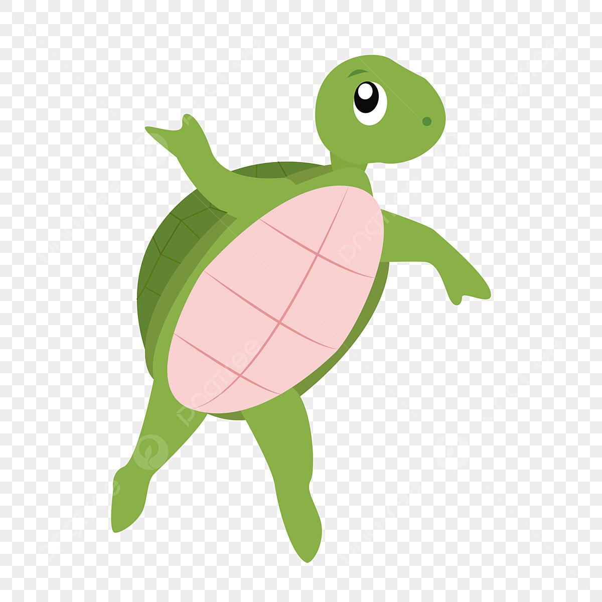 Tortoise Cute Turtle Standing Turtle Animal Lovely Cartoon Hand