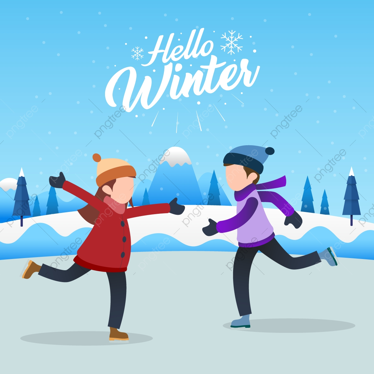 Ice Skating Png Vector Psd And Clipart With Transparent Background For Free Download Pngtree