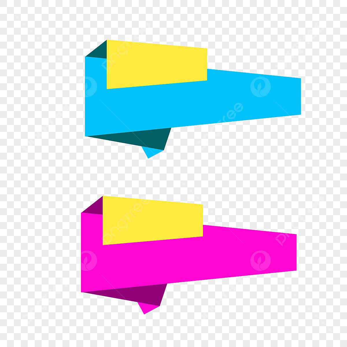Vector Banner Ribbon Design PSD Descargar Gratis Cinta