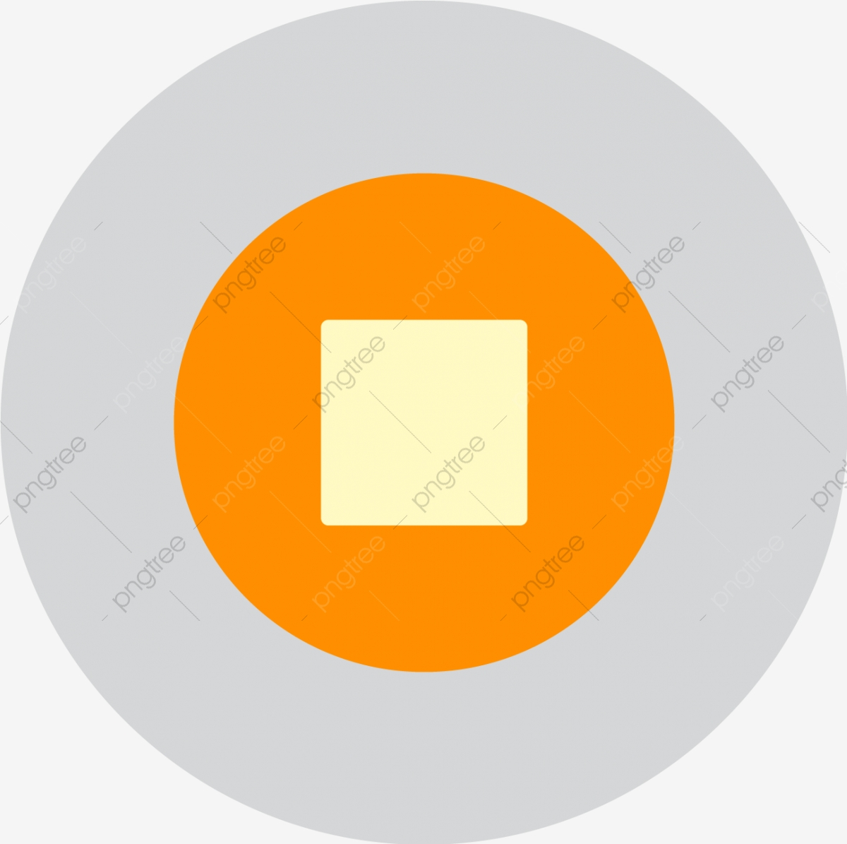 Vector Stop Icon, Audio, Stop, Video Icon PNG and Vector